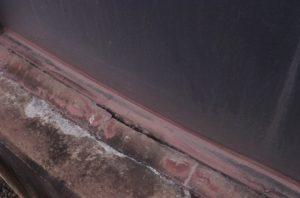 Tank seal corrosion and failure