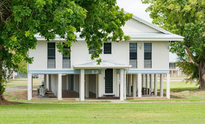 RAFF Base Darwin. Heritage Listed Buildings